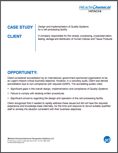 Case Study 2017 Quality Systems