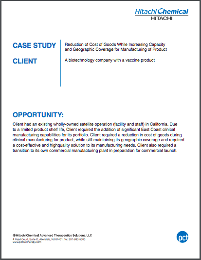 Reduction in Cost of Goods and Geographic Coverage Case Study